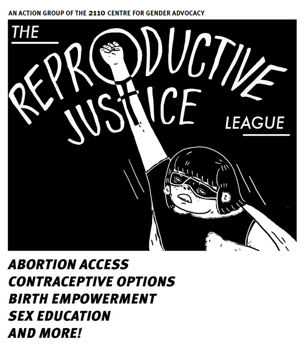 Reproductive Justice League superhero