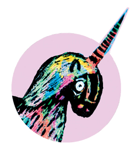 illustration of unicorn